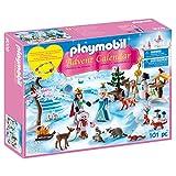 Playmobil Advent Calendar Royal Ice Skating Trip Building Set
