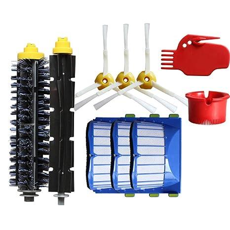Accesorios para Aspiradoras Kit de Reemplazo para Robots de limpieza al vacío iRobot Roomba serie 600