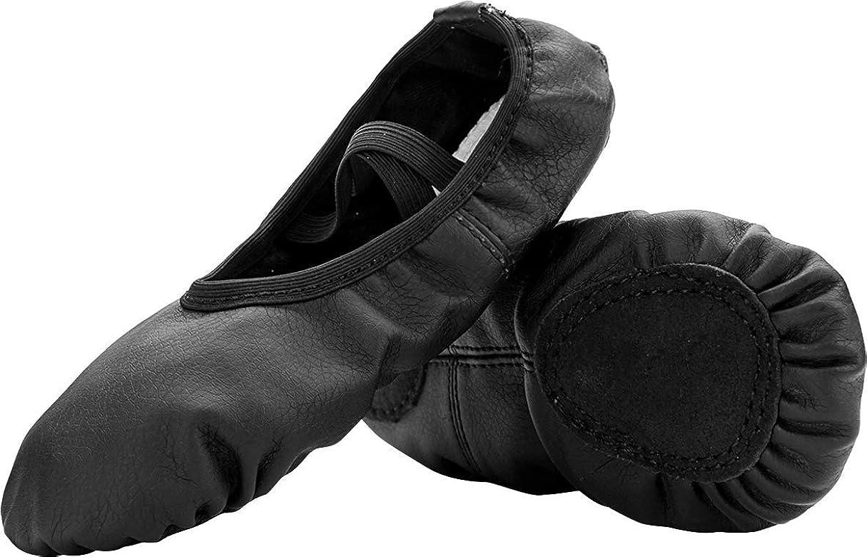 Womens Ballet Pumps Soft Ballet Shoes