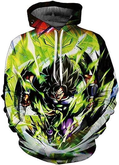 Dragon Ball Z Pullover Sweatshirts Son Goku Vegeta 3D Hoodie