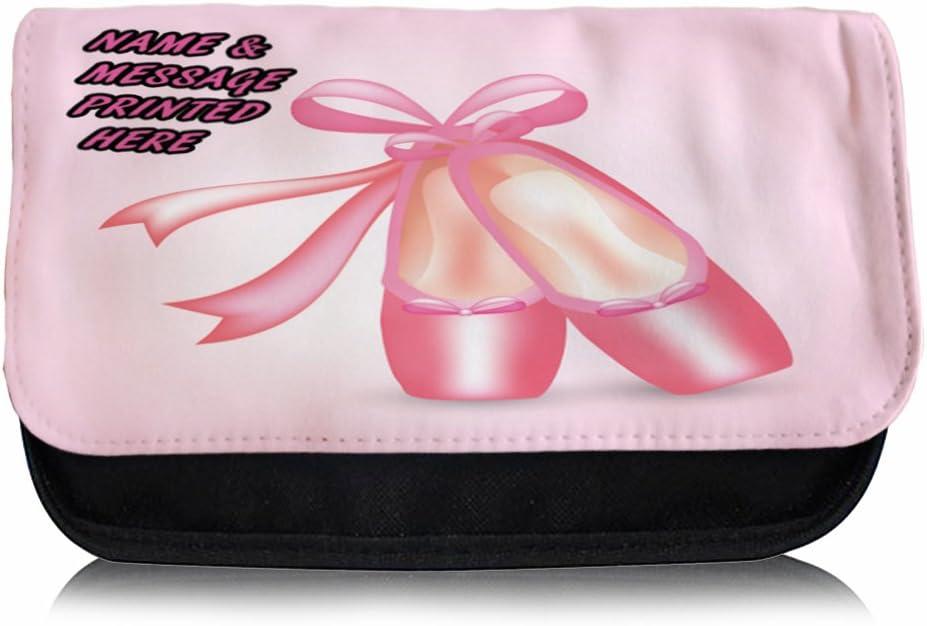 Personalizable zapatillas de ballet dance ST300 estuche escolar/Neceser de maquillaje/Consola de juegos ds Carrier: Amazon.es: Oficina y papelería