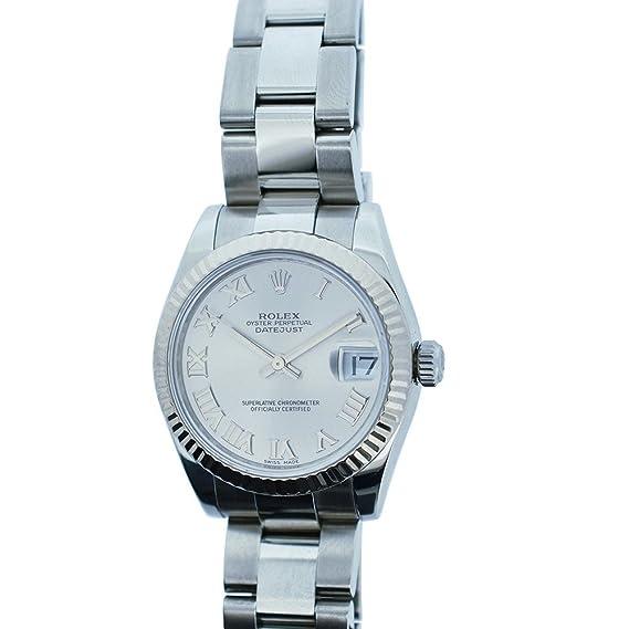 Rolex Datejust automatic-self-wind - Reloj 178274 (Certificado) de segunda mano: Rolex: Amazon.es: Relojes