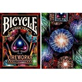 Bicycle Feux d'artifice Playing Cartes par Collectables playing cartes - Ruse