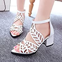 6fa55a0780e Office Wedge Sandals Shoes Women Mid Heels Bohemia Shoes Outdoor Sandals  Summer Slip On Shoes Hemlock