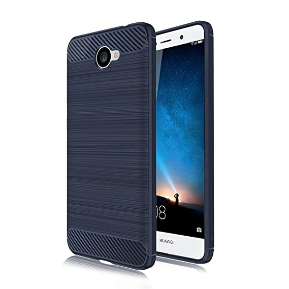 Huawei Ascend XT 2 Case,Huawei Elate 4G LTE Case,Mustaner Shock-Absorption  Flexible TPU Rubber Soft Silicone Full-body Protective Cover for Huawei XT2