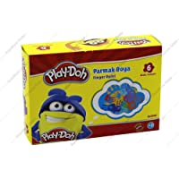 Play-Doh Parmak Boyasý 6 Renk 30 ml