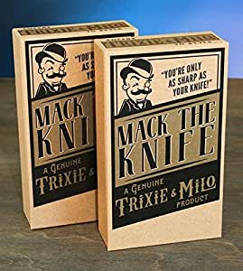 Black Cat - Mack the Knife - Pocket Knife by Trixie and Milo
