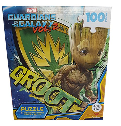 Guardians of the Galaxy - Groot Puzzle (100 Pieces)