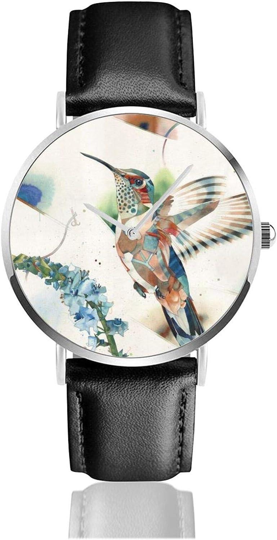 Reloj de Pulsera con colibríes, Temporizador, Deportes, Adolescentes, Estudiantes, Reloj de Cuarzo, con Pilas, 38 mm de diámetro