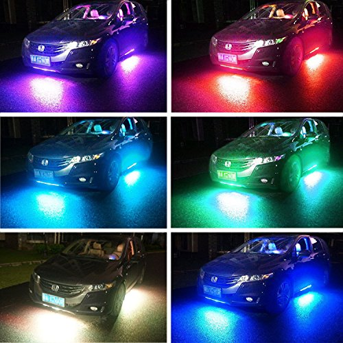 Review DITRIO 4Pcs Car LED