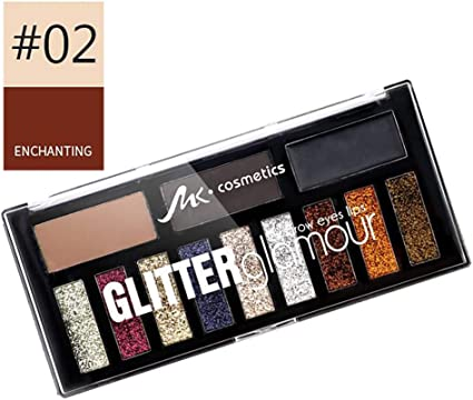 Xiton - Paleta de sombras de ojos, 12 colores, suave, crema, contorno, shades ultra pigmentado, maquillaje plano, kit de maquillaje (1): Amazon.es: Belleza