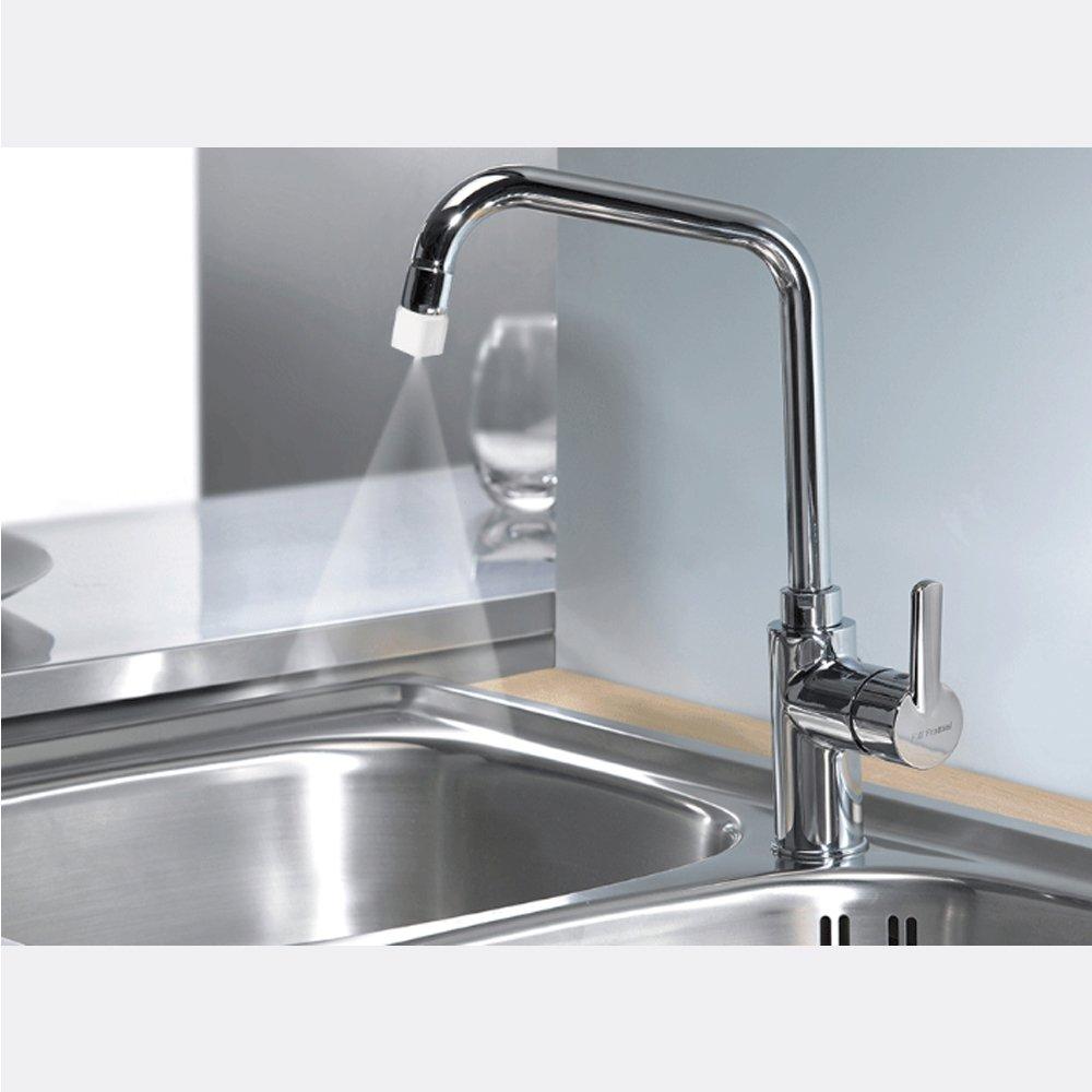 Spray type Faucet Splash Save 98% water proof nozzle Shower kitchen ...