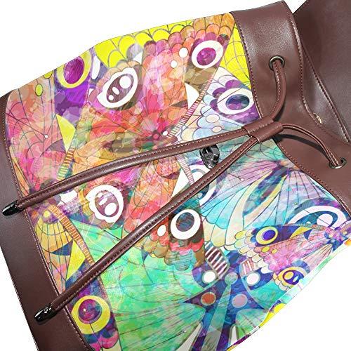 porté au multicolore femme main unique DragonSwordlinsu Taille dos Sac à pour qtI8w4g1
