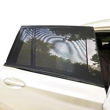 Amazon.com: QIXI - Parasol para ventana trasera de coche ...