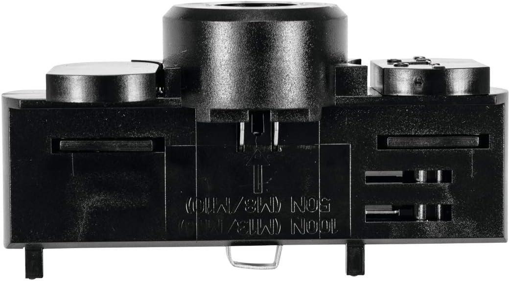 3-phasig Unbekannt EUTRAC Stromschienenadapter 9639397617276 Schwarz