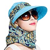 LOVEHATS Fahion Women Lady Girls Summer Hats Beach Hat Sun Visor Hat Visor Sun Hats sky blue