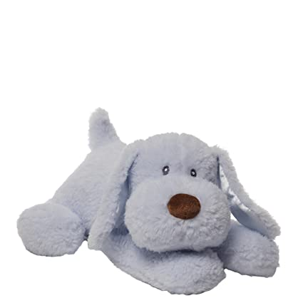 Amazoncom Gund Waggie Blue Dog Plush Toys Games
