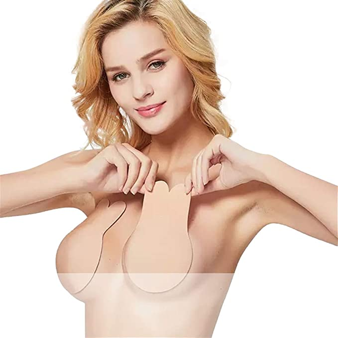 special promotion factory shopping Latest Rabbit Strapless Backless Bra Lift Nipplecovers Adhesive bra Sticky  Pasties