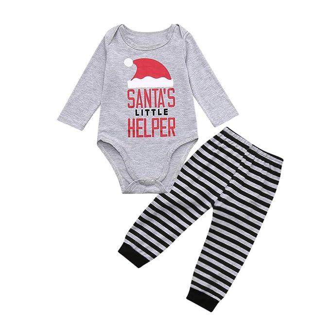1eafba19de4 K-youth Conjuntos Bebe Niña Navidad Ropa Bebé Recien Nacido Niño Invierno  Otoño Body Bebe