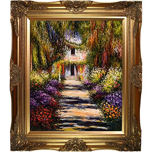 La Pastiche Garden Path at Giverny Minature Art, 9.75