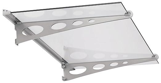 Schulte Vordach 150x90 Cm Glas Haustur Uberdachung Echtglas Klar Vsg
