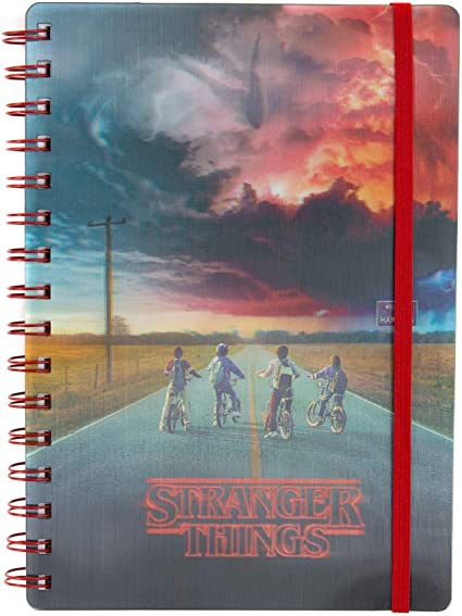 Stranger Things Carnet spirales A5 lenticulaire Mind Flayer Pyramid