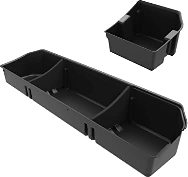 For 2015-2018 Ford F150 Underseat Storage Box SuperCrew Cab Under Seat Box  F250