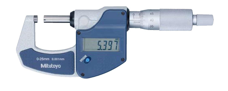 MITUTOYO 101166179 Digital Bü gelmessschraube ohne Datenausgang Messbeich 0-25 mm