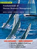 Fundamentals of Human Resource Management, DeCenzo, David A. and Robbins, Stephen P., 1118379683