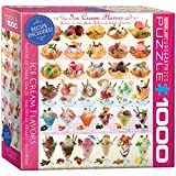 EuroGraphics Ice Cream Flavors Jigsaw Puzzle (1000-Piece)