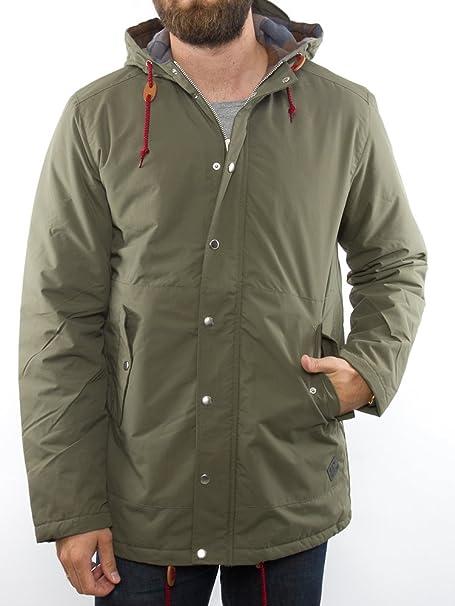 minimum - Chaqueta - con botones - Manga Larga - para hombre verde X-Large   Amazon.es  Ropa y accesorios 0a2337e17877