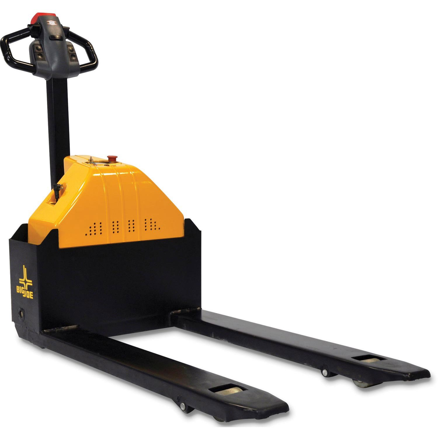 Big Joe E30 Fully Powered Pallet Truck - Pallet Jack - 27'' Wide Forks