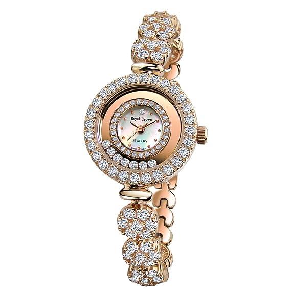Joya de la corona de la mujer real reloj - Analógico Cuarzo 5308b: Amazon.es: Relojes