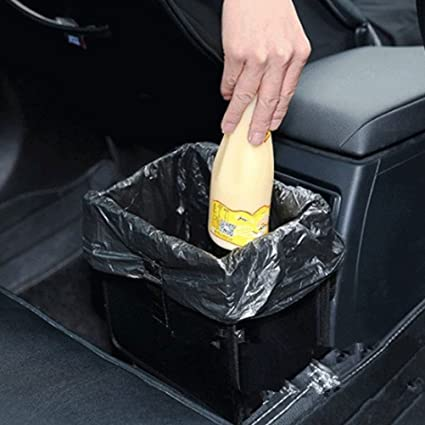 Winomo Multifunctional Car Trash Can Collapsible Leak Proof