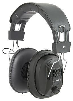 Avlink Msh40 M Casque Audio Avec Contrôle Volume Indépendant Oreille