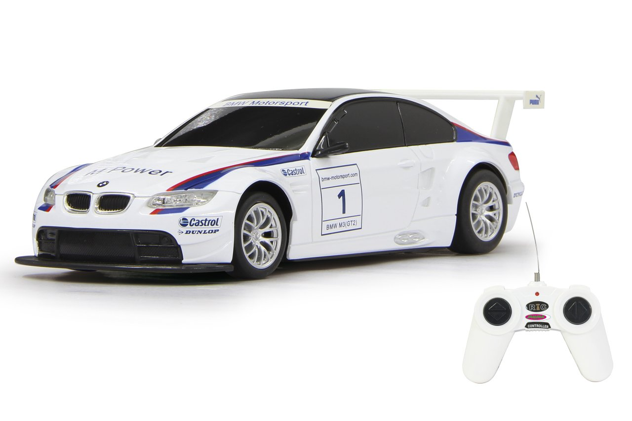 Jamara 403092 40 MHz 1:24 Scale White BMW M3 Sport Deluxe Car Vehicles & Boats