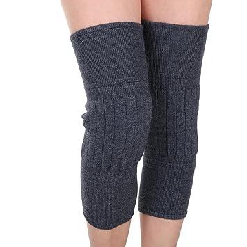 LJHA Rodilleras gruesas almohadillas de rodilla otoño e invierno gruesas rodilleras masculinas y femeninas rodilleras frías