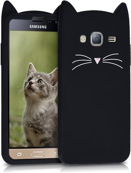 kwmobile Funda Compatible con Samsung Galaxy J3 (2016) DUOS ...