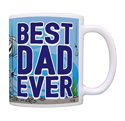 Best Dad Mug Ever Gifts For Fishing Presents Father Dads