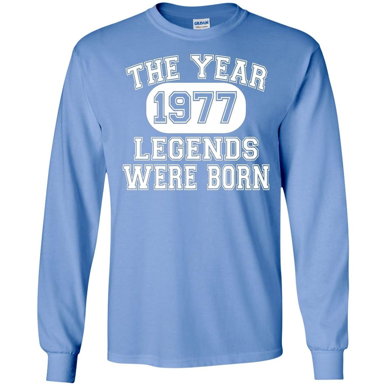 1977-Legends were born Men size Long sleeves