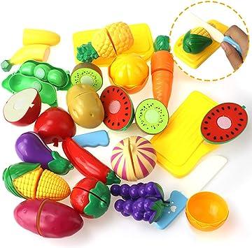 Couper Fruits Et Légumes Jouets De Jeux De Nourriture Pour Cadeaux D/'Enfants FE