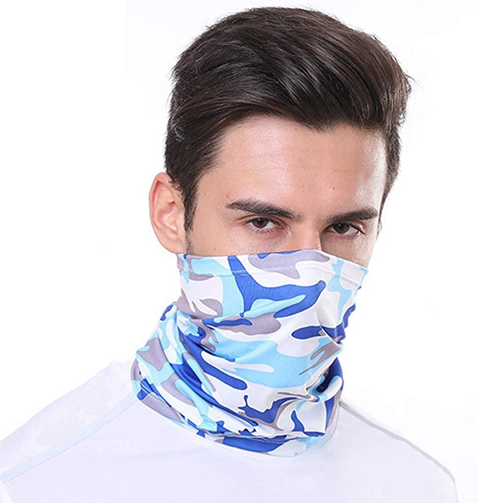 Bylater Unisex Magic Scarf Outdoor Headwear Bandana Sports Tube UV Face Scaves for Workout Yoga Running Hiking Riding