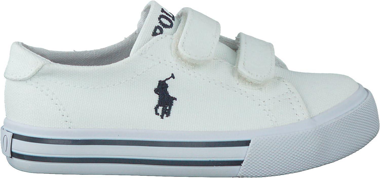 Polo Ralph Lauren - Zapatillas para niño, color blanco, talla 28 ...