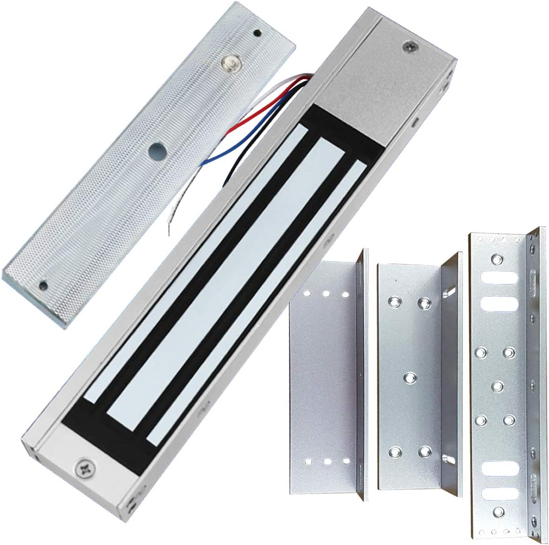 12VDC Electromagnetic Magnetic Door Lock 650Lbs Holding Force Fail Safe