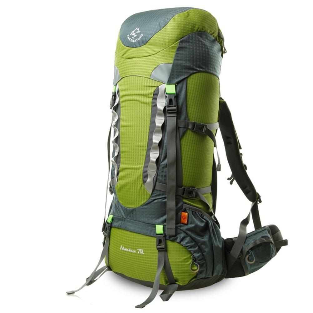 [star e business]登山リュック70L レインカバー付き 撥水 リュックサック キャンプ トレッキング 旅行 アウトドア ハイキング バックパック バッグ 大容量   B07DGWHDMH