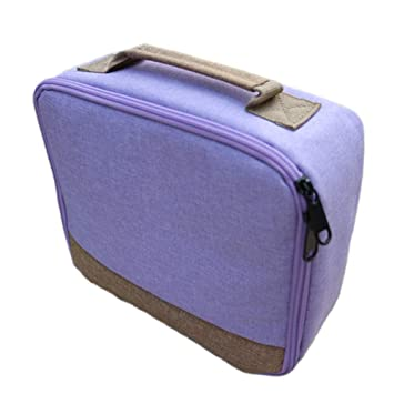 Bolsa de mano portátil, funda protectora de lona para viajes ...