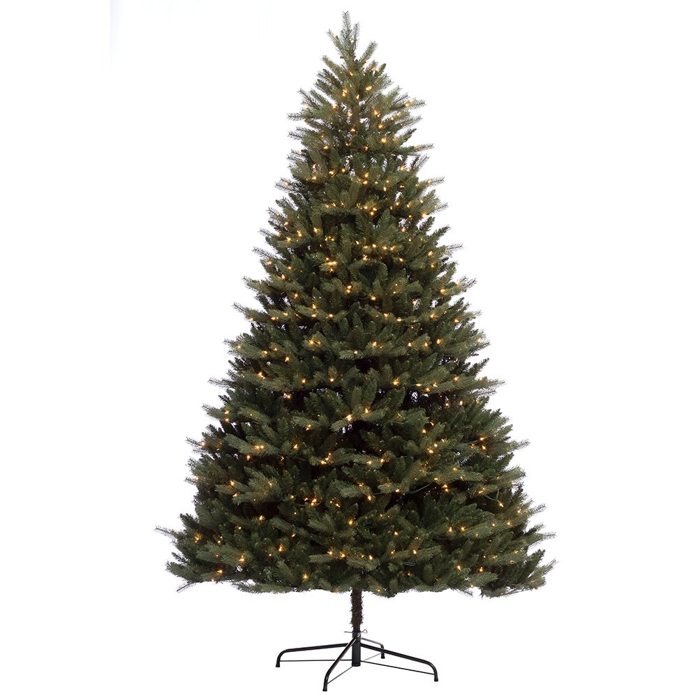 9 ft. Pre-lit Douglas Fir Premier Artificial Christmas Tree 1000 UL listed Clear Lights by Puleo International
