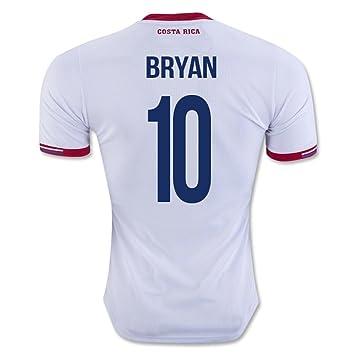 Bryan Ruiz # 10 Costa Rica fútbol Visita Jersey de la Copa América 2016 Centenario (