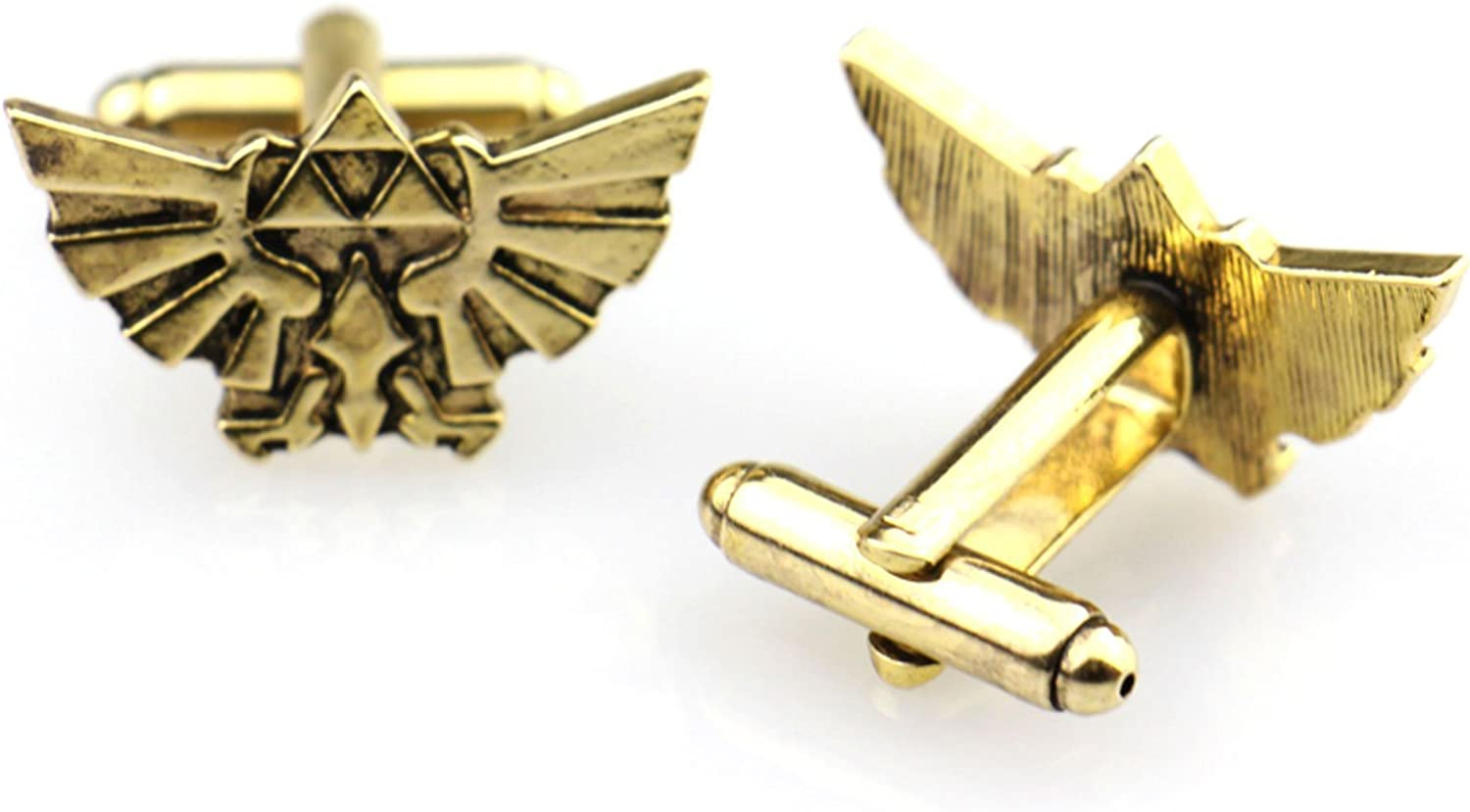French Cockerel Gold-tone Square Cufflinks with Select Gifts Pouch