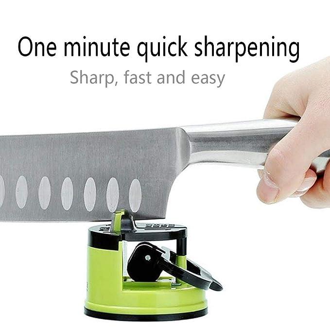 Amazon.com: MS.CLEO - Afilador de cuchillos de cocina con ...